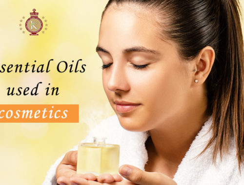 essential oils in cosmetics