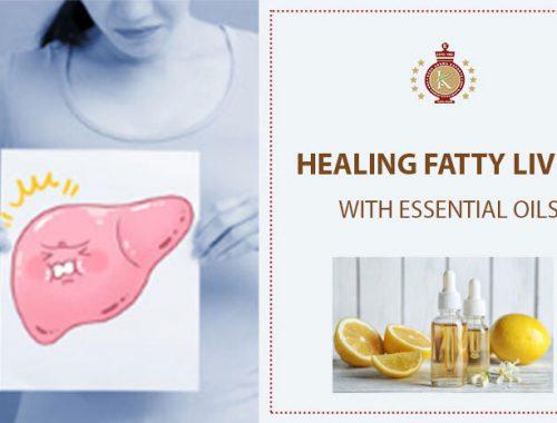 essential oils for fatty liver