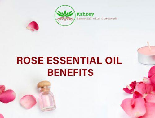 rose essential oil benefits