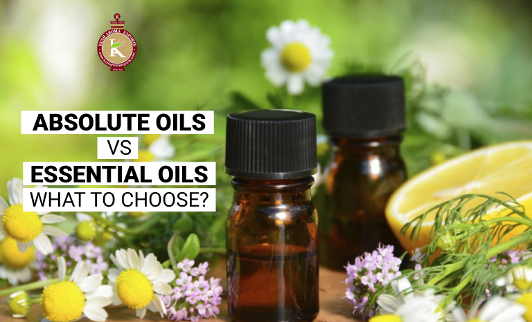 absolute oils vs essential oils