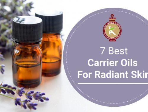 carrier oils for radiant skill
