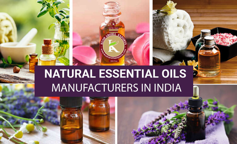 natural essential oils manufacturer in India