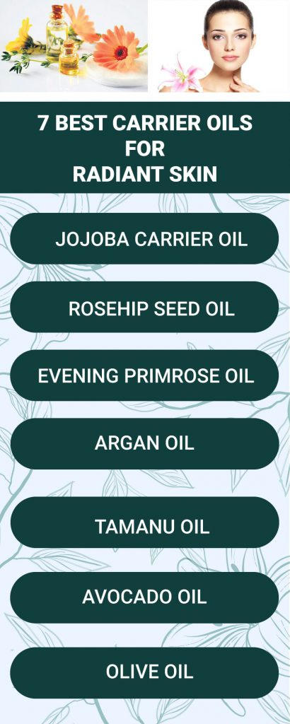 7 best carrier oils for radian skin