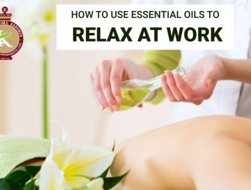 uses of essential oils at work