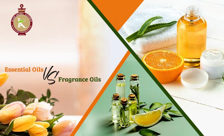 essential oils vs fragrance oils