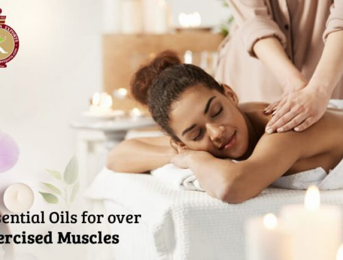 essential oils for over exercised muscles