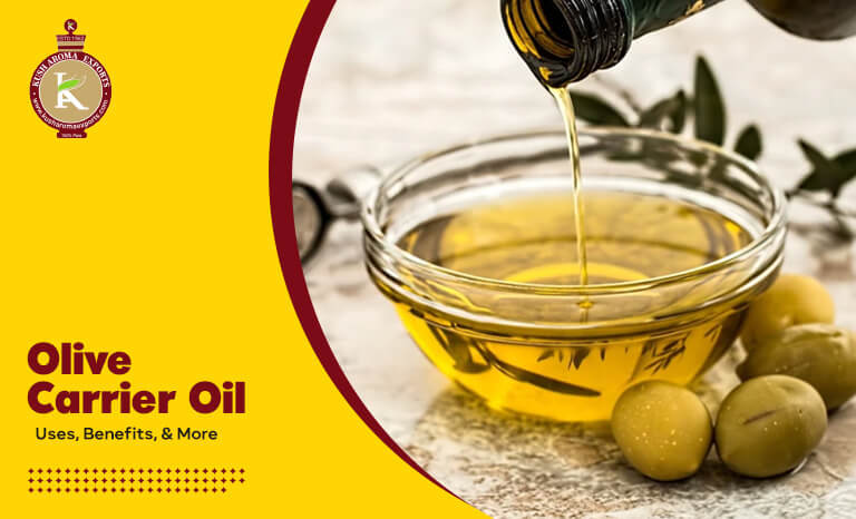 benefits of the Olive carrier oil